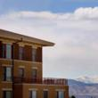 Mountain views at Vi at Highlands Ranch, outside Denver