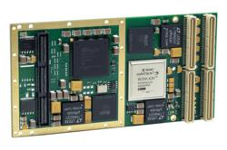 PMC module with reconfigurable Spartan-6 FPGA