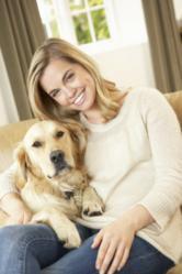 PetAg Woman and Dog