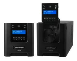 CyberPower Systems Launches a New Generation of Smart App UPS Systems Model PR750LCD with Removable LCD Panels