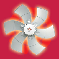 HVAC fans, OEM fans, air movement, evaporator fan, condenser fan, air conditioning fan