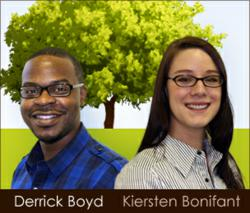 Evolve's New Web Designers - Derrick Boyd & Kiersten Bonifant