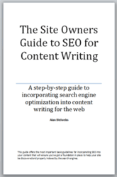Alan Bleiweiss Guide To SEO Content Writing