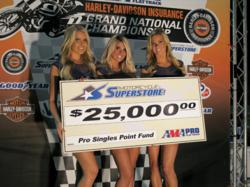 Motorcycle Superstore AMA Pro Singles Points Fund award