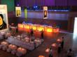 YBCA's Forum, a 6,700 square-foot event space, set up as a lounge.