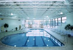 Spa at Cranwell features a indoor pool, whirlpools, sauna and steamrrom