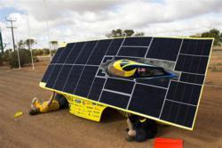 Quantum Solar Car maintenance
