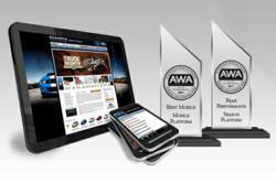 ClickMotive FUSION Platform Wins Multiple AWA Awards.