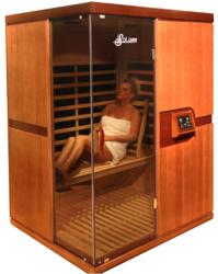 luxsauna reviews of new infrared heat technology