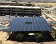 Solar Panel Shade Structure