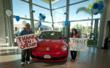 Evelyn and Rob Calip pick up their 2012 New Beetle at Pacific Volkswagen