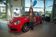 Community Hero Evelynn Calip Gets her 2012 New Beetle