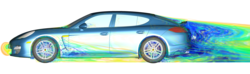 PowerFLOW Simulation of Porsche Panamera