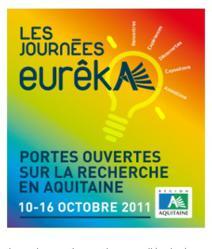 Journées Eurêka (10-16 octobre)  aux Villages des Sciences de Bordeaux et de Pau