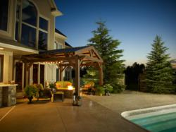 pergolas, wood pergola, made in USA, outdoor room, fire pits, fire tables, outdoor kitchens