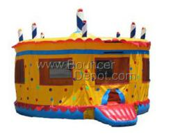 Commercial Bounce House Birthday Cake