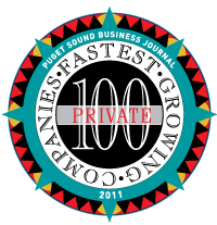 Puget Sound Business Journal 100 Fastest-Growing Private Companies