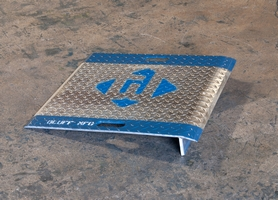 bluff aluminum ramp for designed for handling industrial medical and specialty gas - Aluminum Ramps