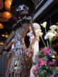 Wrought iron Catrina sculpture designed by No Mas!