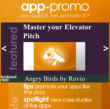The App-Promo app is the source to learn how to market and promote your application