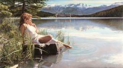 Canadian Beauty - Steve Hanks - World-Wide-Art.com