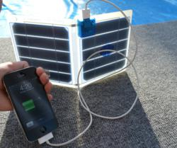 Solar charger iPhone4S