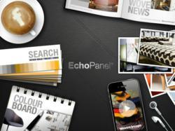 woven image echo panel