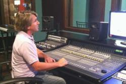 Music City Studios manager Scott Frick