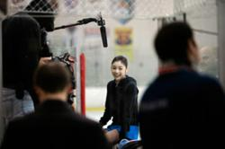 Media opportunity with IOC President Jacques Rogge and Olympic champion Yuna Kim, plus announcement of new YOG ambassador