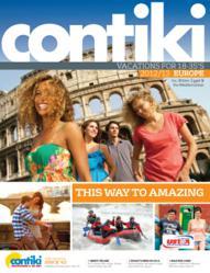 Contiki's 2012-2013 Summer Europe Brochure