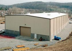 Olympia Steel Buildings Processing Plant