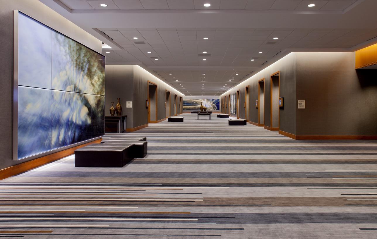 Grand Hyatt Foyer : Grand hyatt dfw debuts completed million renovation to