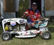 Lawn mower racing champion Greg Honchell will be featured on Fox Sports Net.