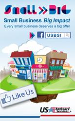 US Bankcard Services Small is Big campaign