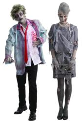 Wall Street Zombie Halloween Costumes