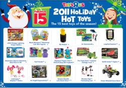 Toys R Us Top Toy List of 2011