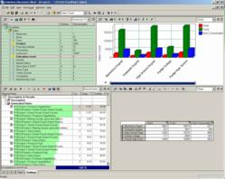 PolyVista Analytical Client user interface example