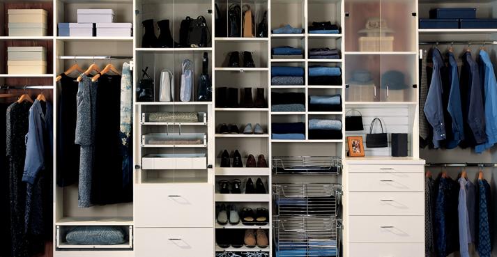 Custom Closet Organizer Systems ...