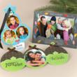 Unique, Shaped Christmas Photo Cards