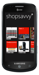 ShopSavvy on Windows Phone 7.5