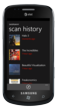 ShopSavvy scan history on Windows Phone 7.5