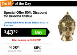 Deal of the day, discounted deals
