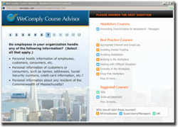 Ethics and Compliance Training Course Advisor