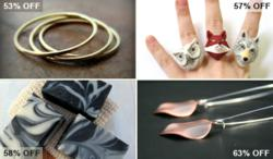 Over 50% off on handmade gifts