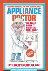 The Appliance Doctor book on home appliance repair
