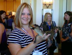 Christine Sawyer of Village Realty OBX and friend at VRMA