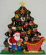 This delightful wooden advent calendar features Santa and 24 ornaments that can be hung on the Christmas tree as the big day approaches. Available from http://www.naturehills.com.