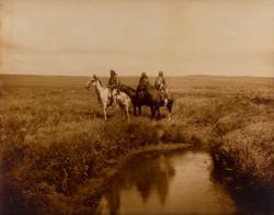 Edward Sheriff Curtis Sale - The Three Chiefs Piegan Prints
