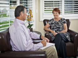 Turning Point Centers offers its rehab patients four one-on-one therapy sessions each week during treatment.