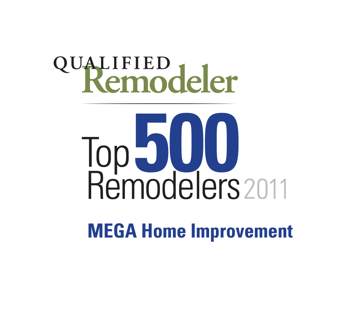 Best Home Improvements: MEGA Home Improvement Receives Two Prestigious Honors From